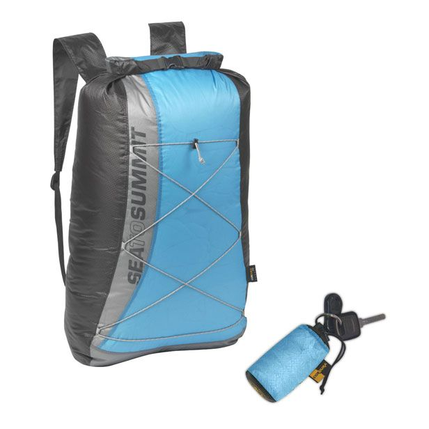 For friends with travelling plans coming. Pack it in the main luggage, take it out when out wondering town.  SEA TO SUMMIT ULTRASIL DRY DAY PACK #christmasgift