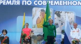 Yane Marques conquista o ouro em Kremilin Cup   S1 Noticias