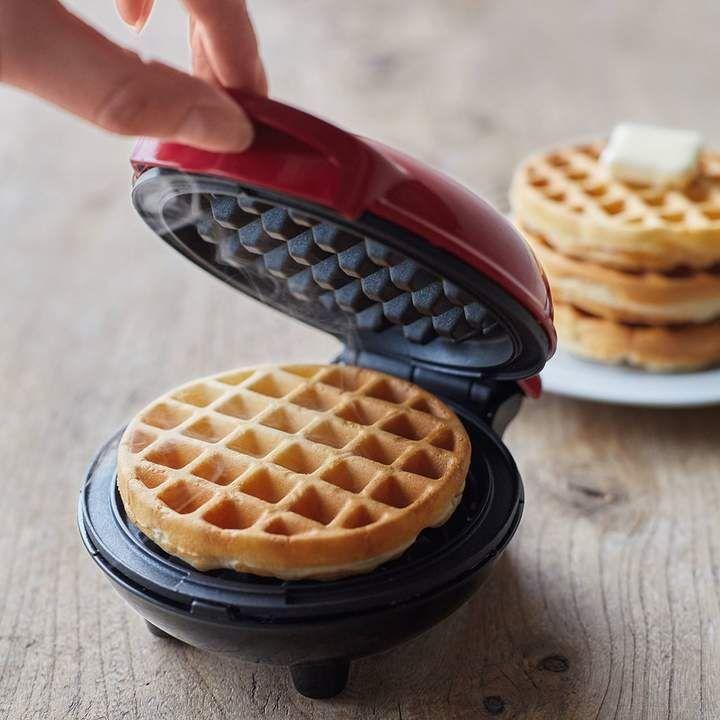 Dash Mini Waffle Maker | Waffles maker, Waffles, Cooking dash