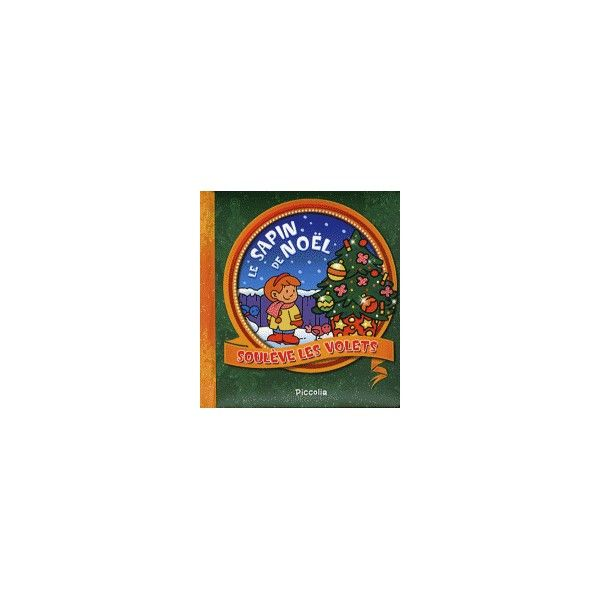 Livre soulève les volets - Le sapin de Noël - Tiniloo