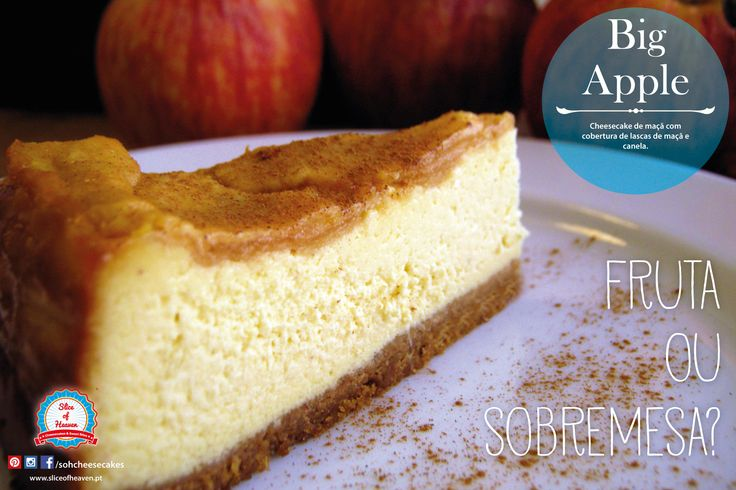Cheesecake de Maçã e Canela  |  Apple & Cinnamon Cheesecake