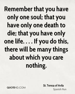 St. Teresa of Avila Quotes | QuoteHD