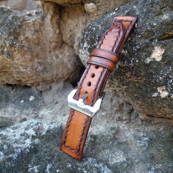 Leather Watch Band, Panerai Strap, Leather Watch Strap, Men's Panerai Band, Watch Bands, Leather Straps, Panerai Watch Strap christmas gifts door GORIANI op Etsy https://www.etsy.com/nl/listing/191641728/leather-watch-band-panerai-strap-leather
