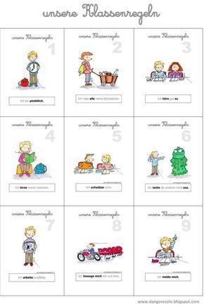 Regeln Im Kindergarten Bildkarten