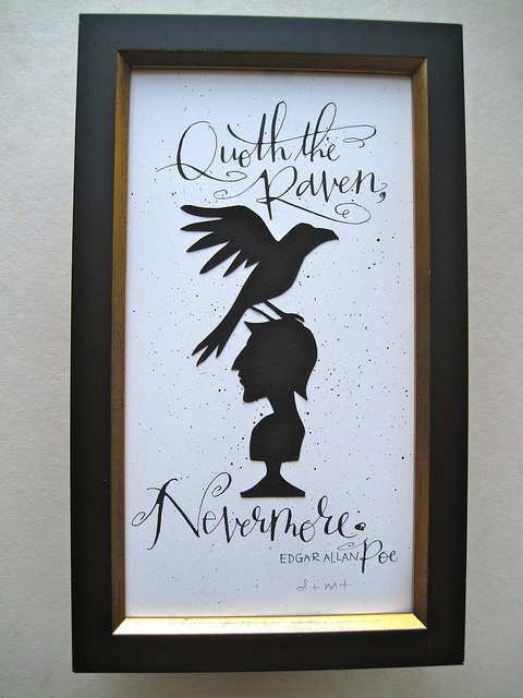 """Quoth the Raven, Nevermore."" - Edgar Allan Poe    by TagTeamTompkins, via Flickr"