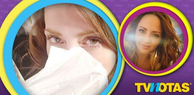 Febrero: Andrea Legarreta tiene #influenza AH1N1.