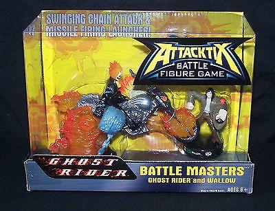 Attacktix Figure Game Battle Masters Mega Ghost Rider & Wallow Hasbro Marvel