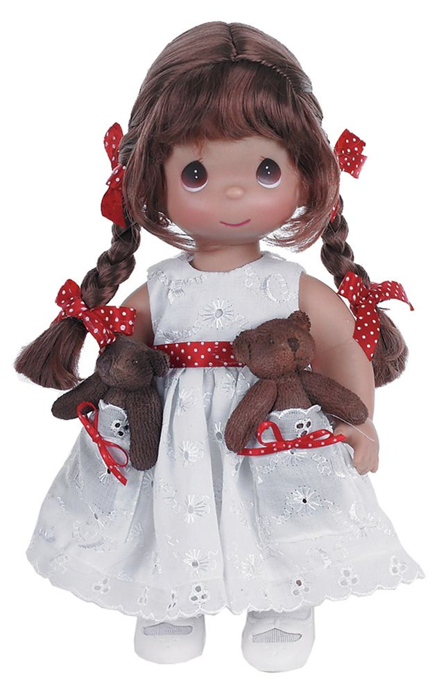 Кукла «друзья в кармашке» брюнетка precious moments