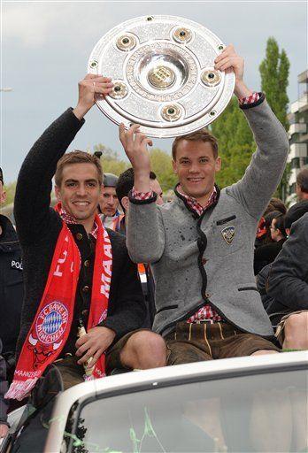 FC Bayern, Lahm und Neuer