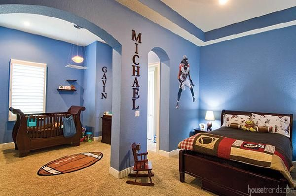 10 Best Ideas About Football Theme Bedroom On Pinterest