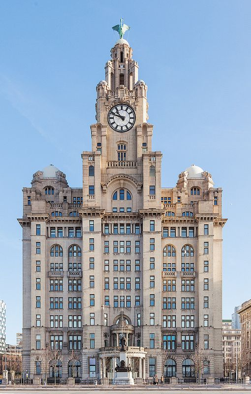 The Royal Liver Building by Jon Reid. The Royal Liver Building is a Grade I listed building located in Liverpool, England. It is part of Liverpool's UNESCO designated World Heritage Maritime Mercantile City. Today the Royal Liver Building is one of the most recognisable landmarks in the city of Liverpool.