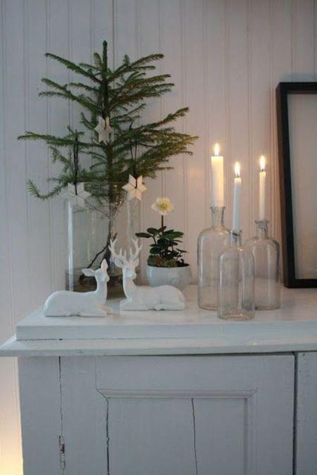 Decorando para navidad con botellas, botes y vasos   Blog T&D