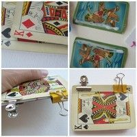 Playing Card Pocket Diary - Tutorial