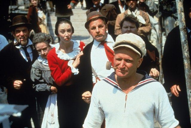 "Popeye (1980) ""Wrong is wrong, even when it helps ya.""  23 Lessons of Robin Williams Movies-Remembering Robin Williams - Elle"
