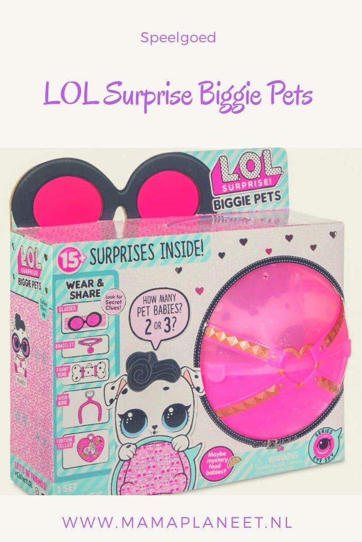 L O L Biggie Pets Maak Kennis Met De Nieuwste Eye Spy Serie Kinderspeelgoed Spaarvarken Speelgoed Voor Kinderen
