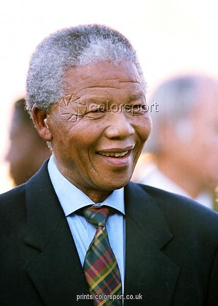 Nelson Mandela from colorsport, Rugby c/o Wall Art, Prints and Photo Gifts from Media Storehouse