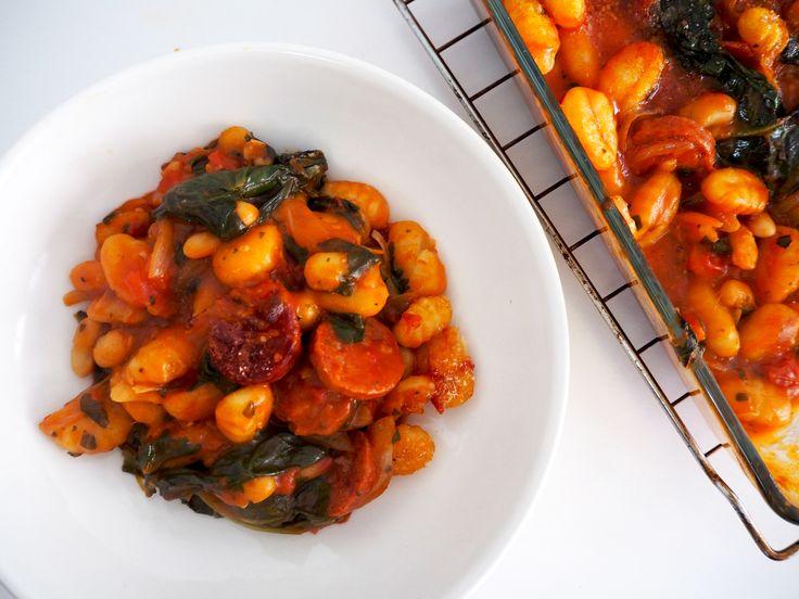 Gnocchi met chorizo en cannellini bonen- COMFORT FOOD