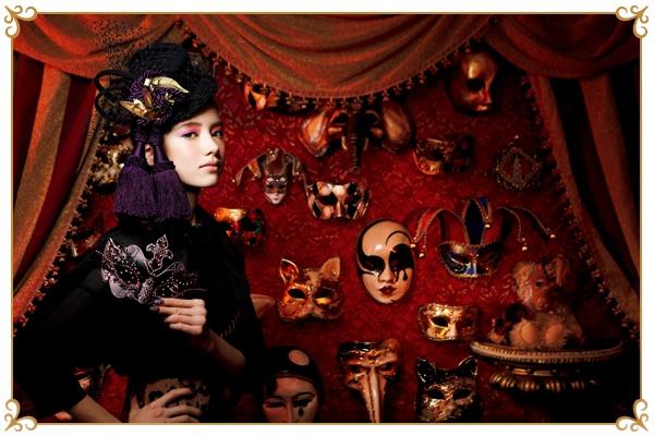 "MAJOLICA MAJORCA ""Voyage"" Mask-land / マジョリカ マジョルカ ""ボヤージュ"" 仮面の国"