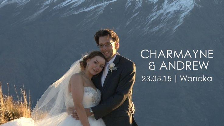 Charmayne and Andrew's wedding day.  Ceremony Rippon Wanaka and photo shoot on Mt Roy
