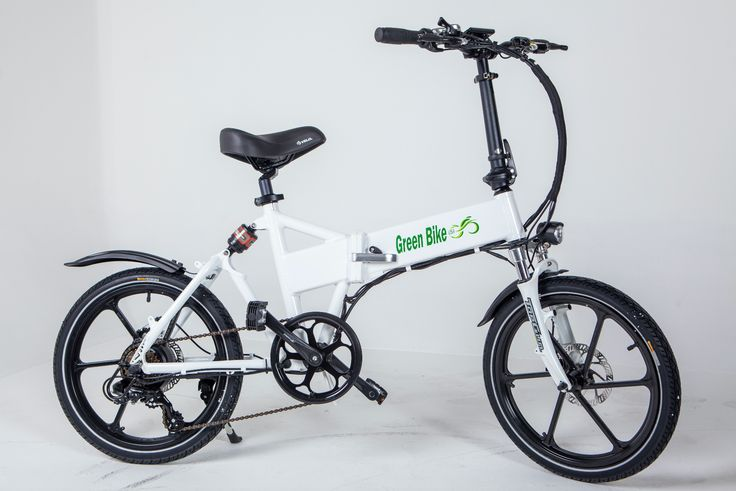 Green Bike USA GB Smart - Folding Electric Bike with LCD + Samsung Lithium Battery (Pedal Assist/Twist Throttle)