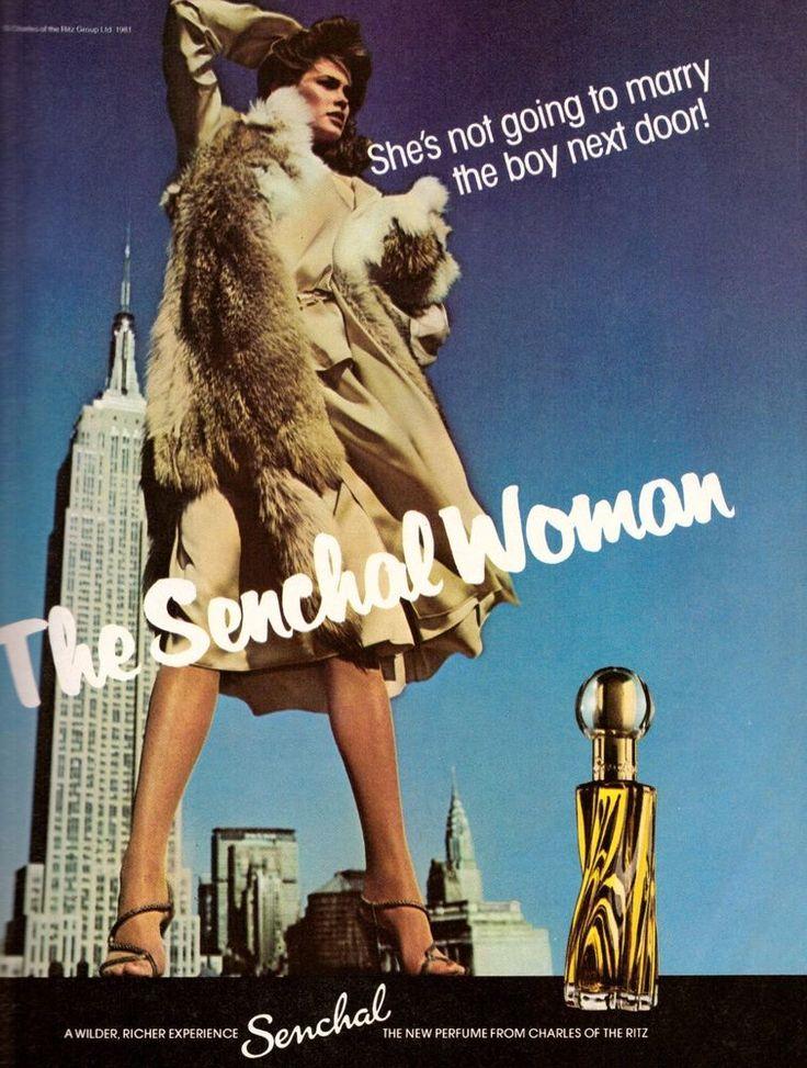 1981 Senchal Charles of the Ritz Juli Foster Print Ad Advertisement Vintage 80s | eBay