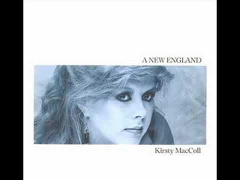 "Kirsty MacColl With Billy Bragg - A New England. Recorded for a Nicky Campbell session in 1991 during Kirsty's infamous ""stage fright"" period."