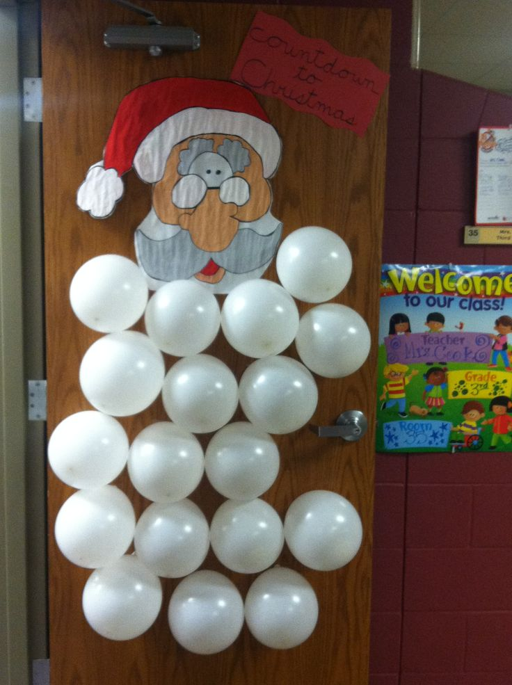 I put a fun Christmas activity in each balloon-kids pop one per day  then we do the activity! They LOVE it!!  NEXT YEAR!!