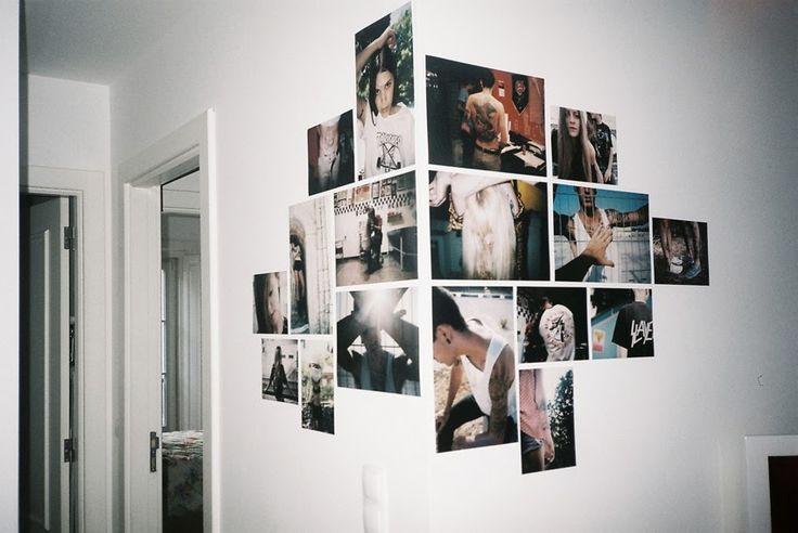 Photo wall corner