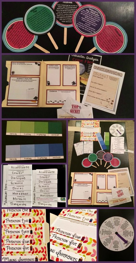 15 hands-on formative assessments for any novel! Engage your students while assessing their knowledge at the same time!