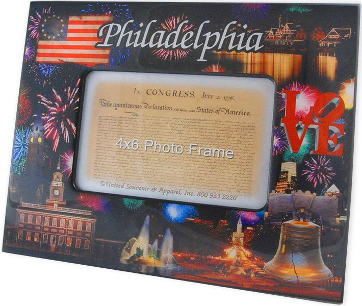 PFPH2 Picture Frame 8x10 for 4x6 Philadelphia Fireworks