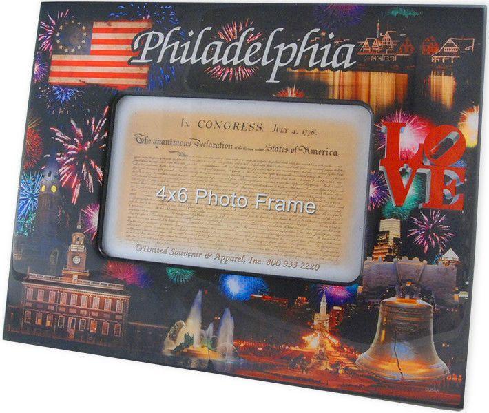 PFPH2 Picture Frame 8x10 for 4x6 Philadelphia Fireworks