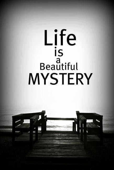 I have had such a life - mysterious and always surprising. Mostly great, a little bad here and there - but I have a life. Full of good family, love, fun, sadness, joy, hope, peace, confusion, challenges, frustration and anticipation for more. I am doing my best not to waste one minute of it..