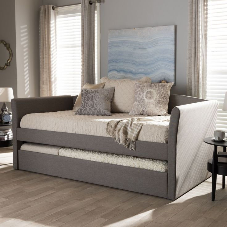 The Kassandra modern and contemporary daybed with guest trundle bed is all  about refined comfort and - Best 20+ Contemporary Daybeds Ideas On Pinterest Daybed With