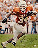 Ricky Williams Texas Longhorns Autographs