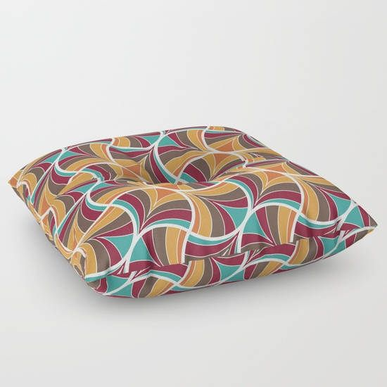 Art deco floor pillowfloor cushionfloor pillow
