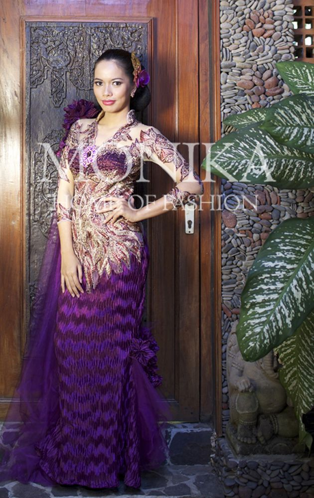 Purple Amethyst Kebaya