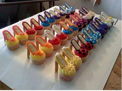Shoe dessert