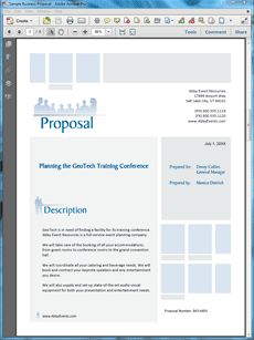 Corporate Event Planner Services Proposal - Create your own custom proposal using the full version of this completed sample as a guide with any Proposal Pack. Hundreds of visual designs to pick from or brand with your own logo and colors. Available only from ProposalKit.com (come over, see this sample and Like our Facebook page to get a 20% discount)