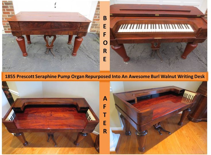 How To Repurpose Furniture 13 best organ repurpose images on pinterest | pump organ, desk