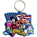 Disney FIREWORKS KEY Keychain Keyring