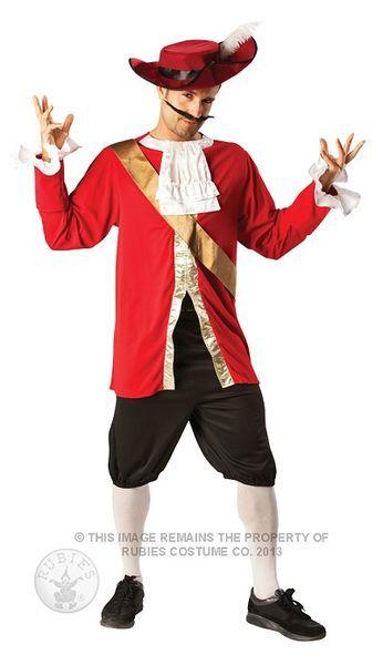 Naamiaisasu; Kapteeni Koukku  Kapteeni Koukun asu standardikokoisena. Peter Panin hurja vihollinen, ainoana pelkona krokotiili kello kaulassaan… #naamiaismaailma