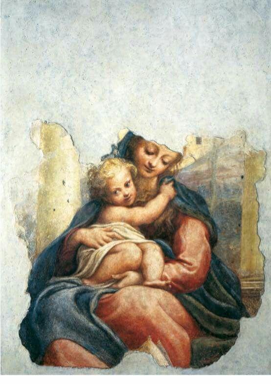 Madonna della Scala. 1522-1523. Galleria Nazionale di Parma.