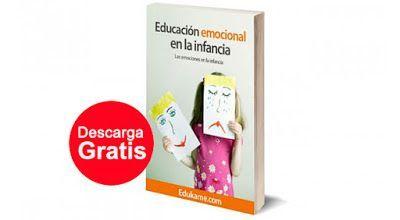 AYUDA PARA MAESTROS: Libro gratuito - Educación emocional en la infancia