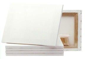 Bomuldslærred pakke med 5 stk 60 x 80 cm