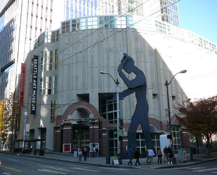 seattle+Art+museum | Seattle Art Museum & Hammering Man