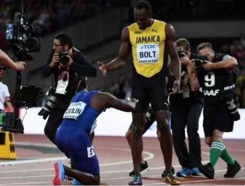 "Bolt battuto da Gatlin. Si ritira:""Deluso"" #bolt #gatlin #atletica #sport #news"