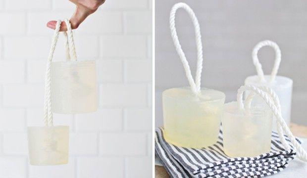 Podrobný návod, jak si vyrobit závěsné domácí mýdlo