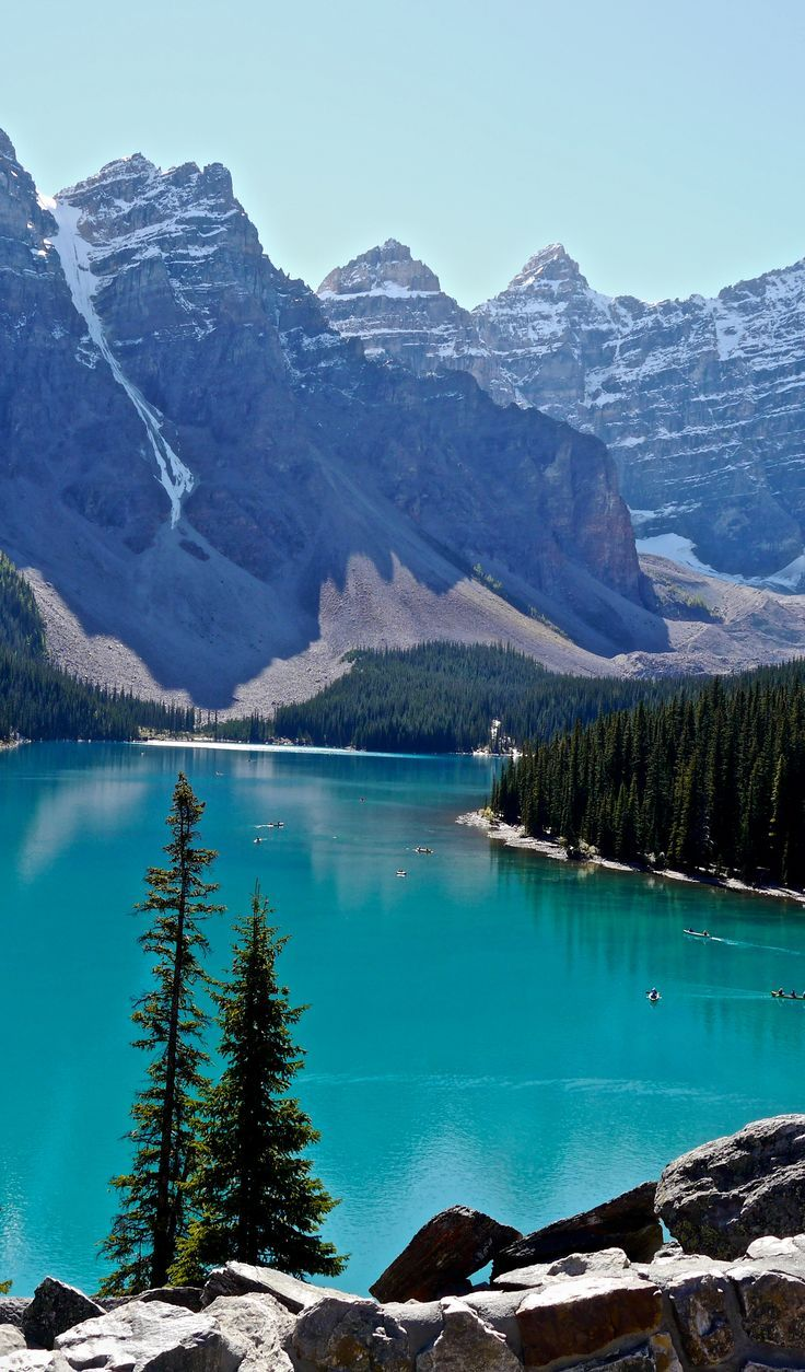 Banff National Park is Canada's