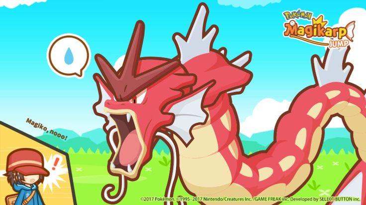 What!? my magiko evolve into red Gyarados 😲