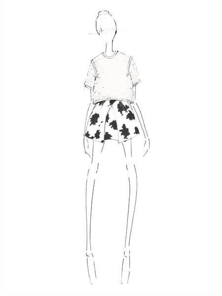 Fashion illustration - fashion design sketch for WHIT Fall 2014